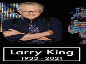 Πρίν απο λίγο – Νεκρός ο Larry King. Τον σκότωσε ο Κορονοϊός