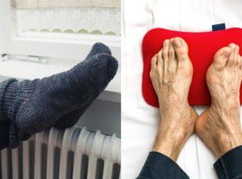 Έχετε κρύα πόδια; Τι σημαίνει για την υγεία σας και τι πρέπει να κάνετε