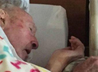 Λίγο πριν πεθάνει ο 95χρονος παππούς της τράβηξε αυτη τη φωτογραφία – Μόλις δείτε τι κρατάει στα χέρια του θα δακρύσετε (Video)
