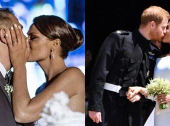 11 γαμήλια φιλιά διάσημων ζευγαριών που άφησαν ιστορία