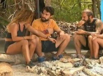 """Survivor 4 – Σάκης σε Μαριαλένα: """"Αυτό το χωρίζω το λες πολύ ωραία!"""""""