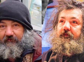 Κομμωτής μεταμορφώνει άστεγο άντρα που είχε να κουρευτεί 5 χρόνια και τον κάνει να μοιάζει γοητευτικό μοντέλο