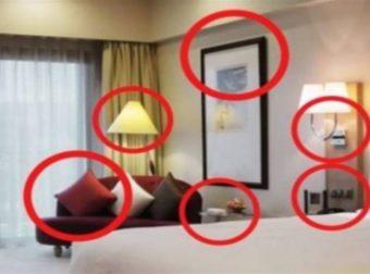 Τρέξτε μακριά αν δείτε αυτά στο δωμάτιο του ξενοδοχείου
