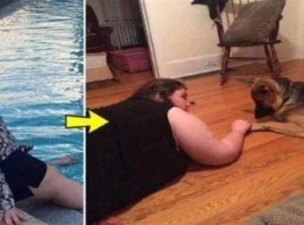 Παχύσαρκο νεαρό κορίτσι άρχισε να κάνει τζόκινγκ μαζί με το σκύλο της και δείτε πως έχει γίνει σήμερα