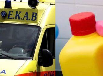 Αγρίνιο: Γυναίκα έχυσε μπουκάλι με χλωρίνη στο πρόσωπο του άντρα της