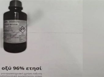 Μονή Πετράκη: Αυτά είναι τα μπουκάλια που αγόρασε ο ιερέας – Υπάρχουν στο διαδίκτυο και μπορεί να προμηθευτεί όποιος θέλει