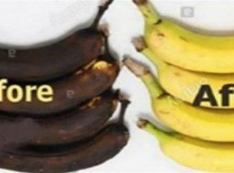 Μην πετάτε τις μαυρισμένες μπανάνες – Μάθετε πώς μπορείτε να τις επαναφέρετε (Video)