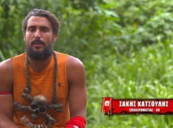 Survivor 4 – Σάκης: «Ο Κόρο και ο Ασημακόπουλος έχουν σε απόσταση τον Ηλία»