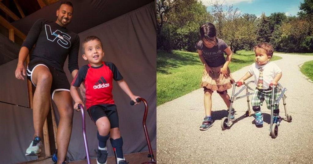 Του είπαν πως ο γιος του δεν θα περπατήσει ποτέ κι εκείνος του έμαθε να χορεύει