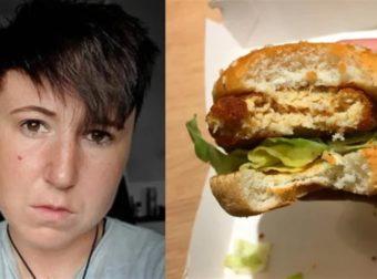 27χρονη χορτοφάγος αρρώστησε και έπεσε σε κατάθλιψη γιατί έφαγε κατά λάθος κοτόπουλο