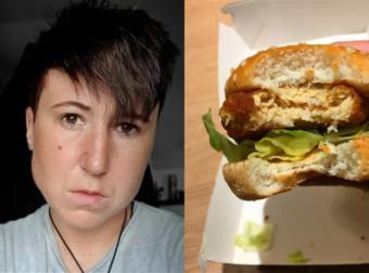 27χρονη χορτοφάγος αρρώστησε και έπεσε σε κατάθλιψη επειδή έφαγε κατά λάθος κοτόπουλο
