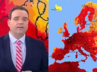 Καλλιάνος: Πότε αρχίζει ο Καύσωνας – Αναλυτικά οι πόλεις που θα πάει το θερμόμετρο στους 45 βαθμούς